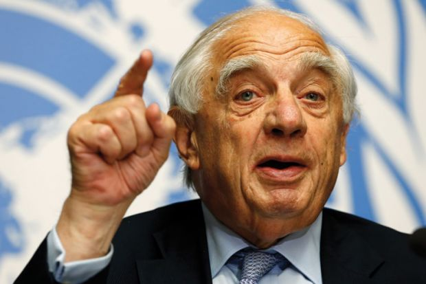 Sir Peter Sutherland, London School of Economics (LSE)