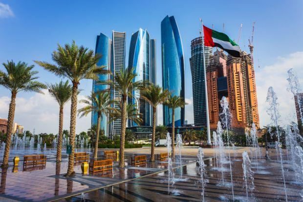Skyscrapers in Abu Dhabi, UAE
