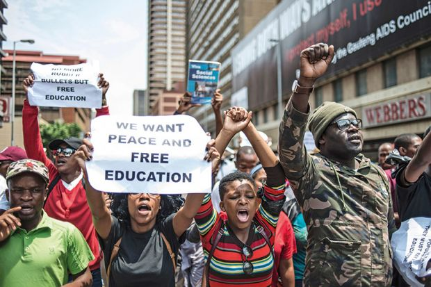 south africa embraces free higher education but concerns remain