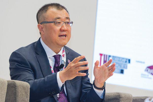 Tsinghua University vice-president and provost Bin Yang