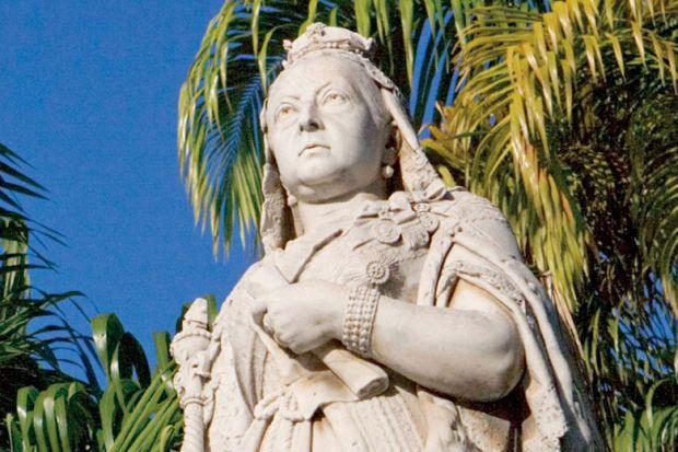 Statue of Queen Victoria, Port Louis, Mauritius