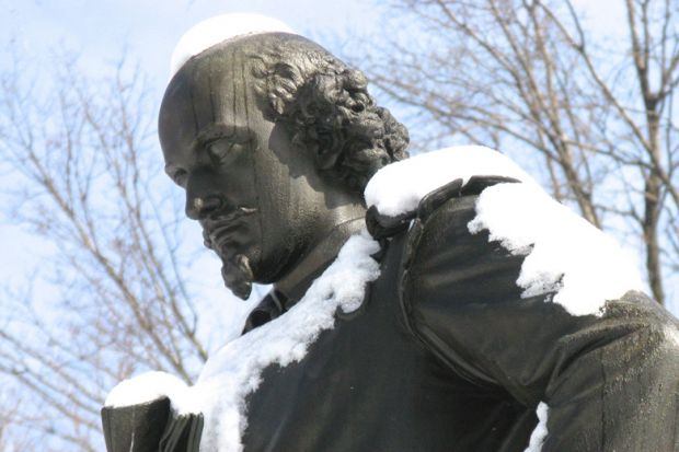 Statue of William Shakespeare, Central Park, New York City