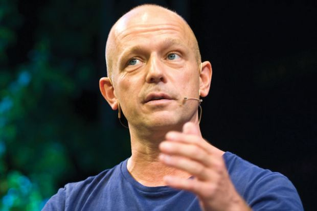 Steve Hilton speaking at conference