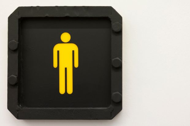 A stickman in yellow against a black background
