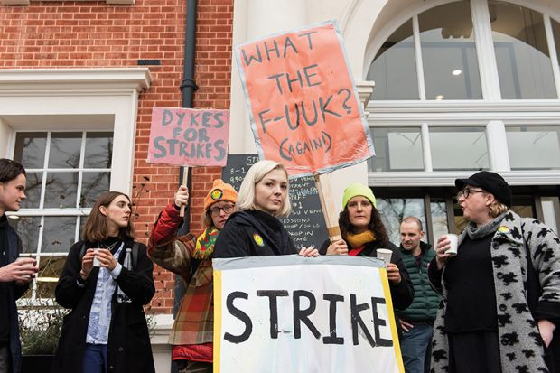 Strike at Goldsmiths