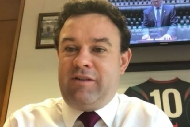 Stuart Ayres NSW minister