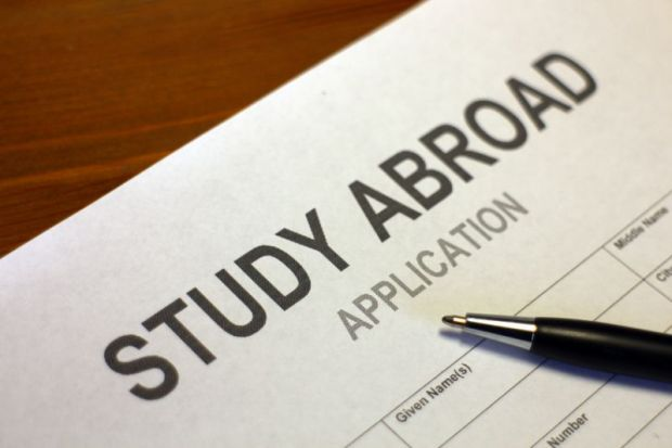 Study abroad application