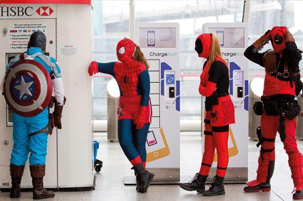 superheroes cash machine