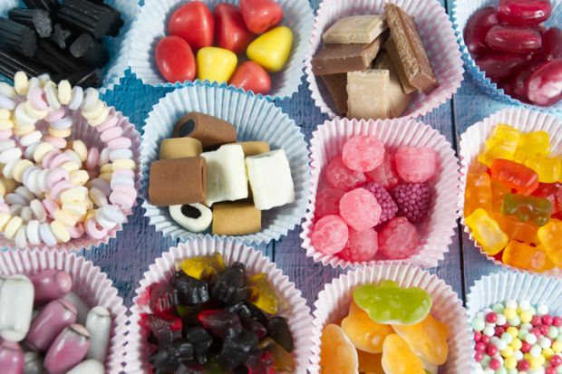 Pick-and-mix sweets