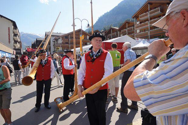 Swiss horns