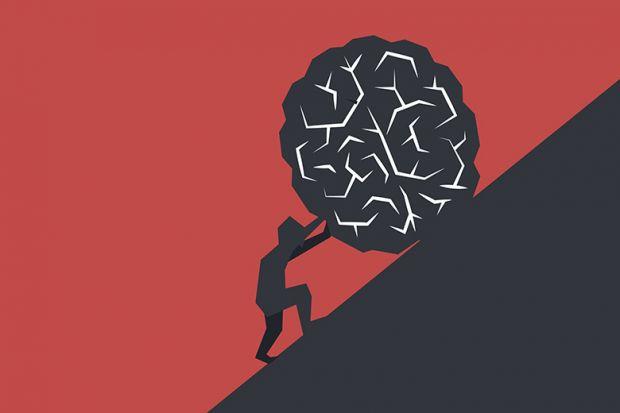 Illustration of Sisyphus