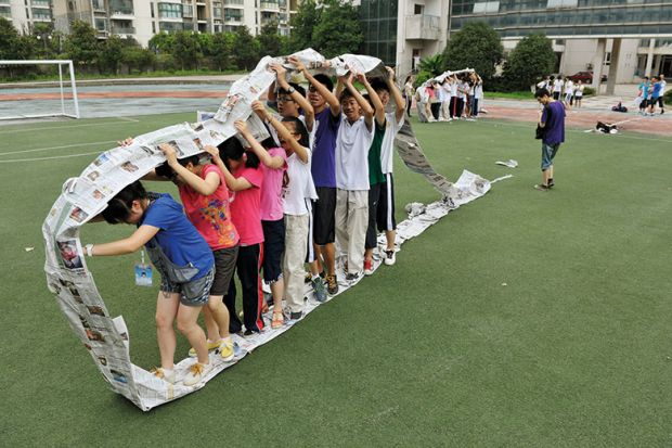 teamwork race