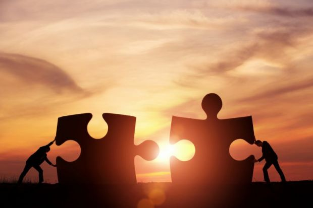 teamwork partnership