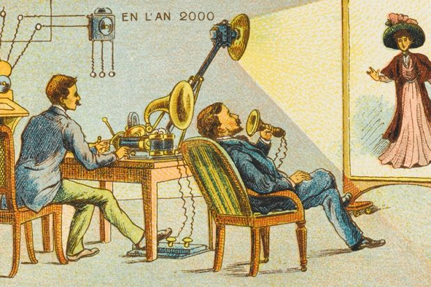 Videophone illustration