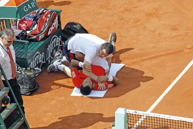 Tennis osteopath