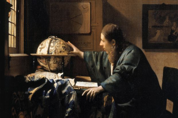 The Astronomer, by Johannes Vermeer (1668)