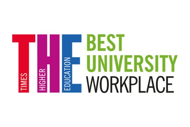 Best University Workplace logo