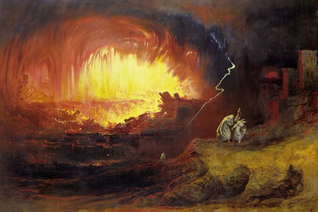 The Destruction of Sodom and Gomorrah by John Martin 1852