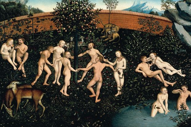 The Golden Age, 1530 painting, by Lucas Cranach the Elder