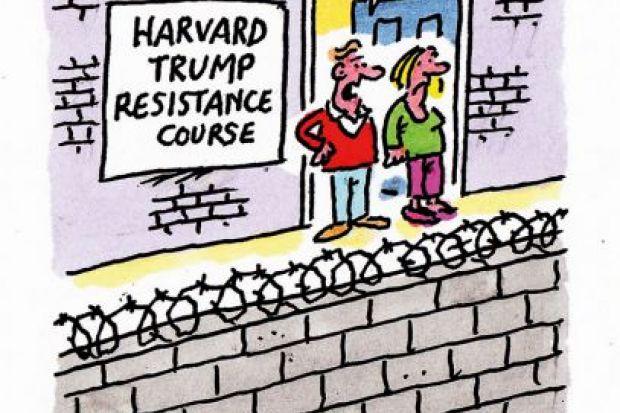The week in higher education cartoon (13 April 2017)
