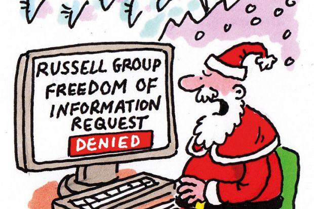 The week in higher education cartoon (17 December 2015)