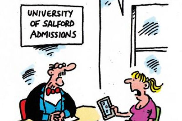 The week in higher education cartoon (18 August 2016)
