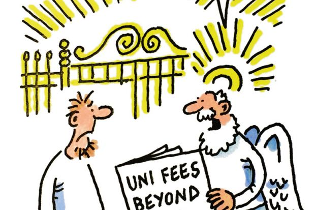 The week in higher education cartoon (31 March 2016)