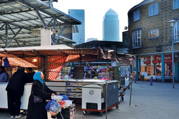 Isle of Dogs, Canary Wharf, London