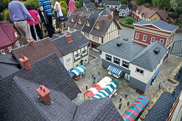 Beconscot Model Village, Beaconsfield, Buckinghamshire, England.