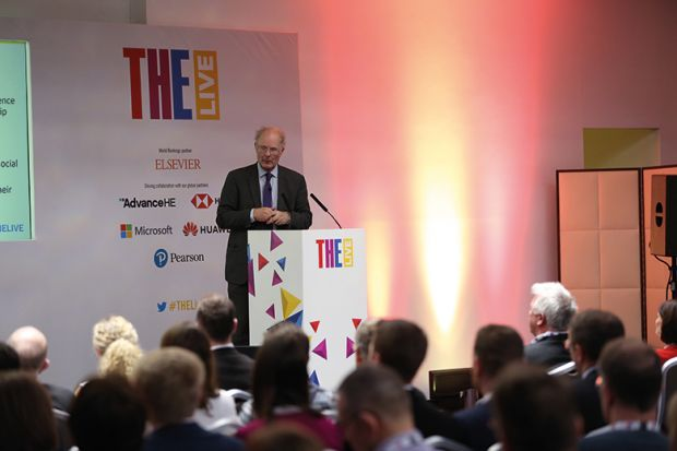John Curtice at THE Live