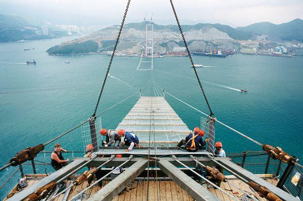 Bridge construction Hong Kong