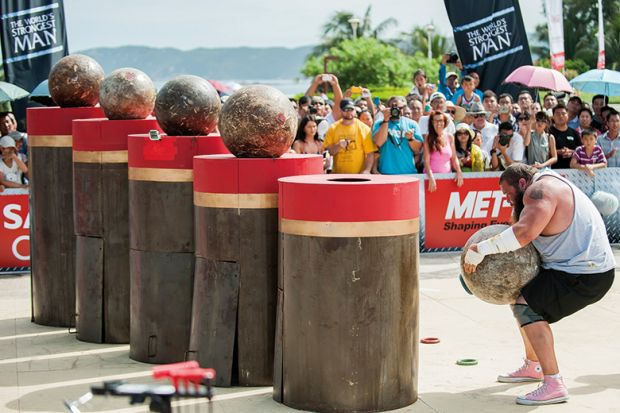 World's Strongest Man competition