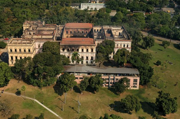 National Museum of Brazil destroyed by fire