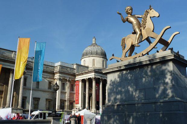 Fourth plinth, Trafalgar Square