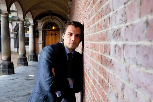 Thierry Baudet, who led the Forum for Democracy party.