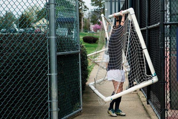 Person moving goalposts