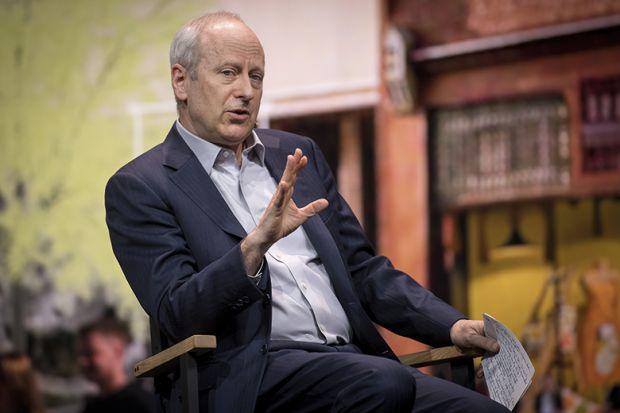 Michael Sandel, professor at Harvard University