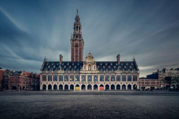 The KU University library, Leuven, Belgium