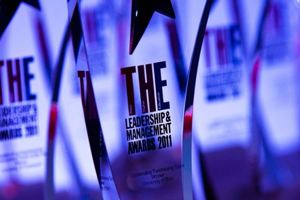 THE Leadership and Management Awards 2011 winners