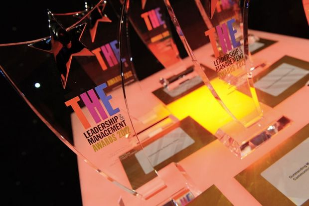 THE Leadership and Management Awards 2012 winners