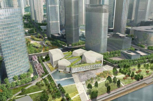 Artist's impression of Tianjin Juilliard