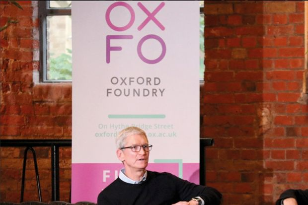 Tim Cook Oxford Foundry
