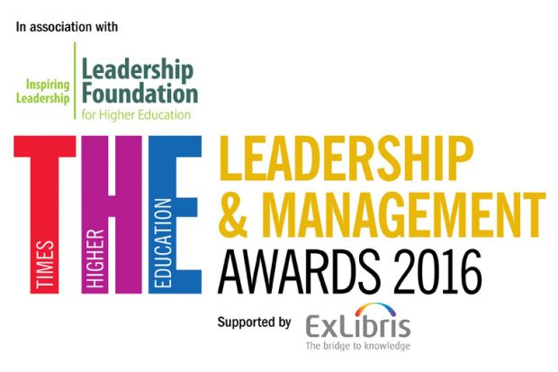 Times Higher Education Leadership & Management Awards (THELMA) 2016 logo