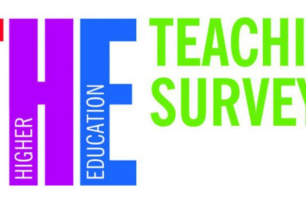 Times Higher Education teaching survey logo