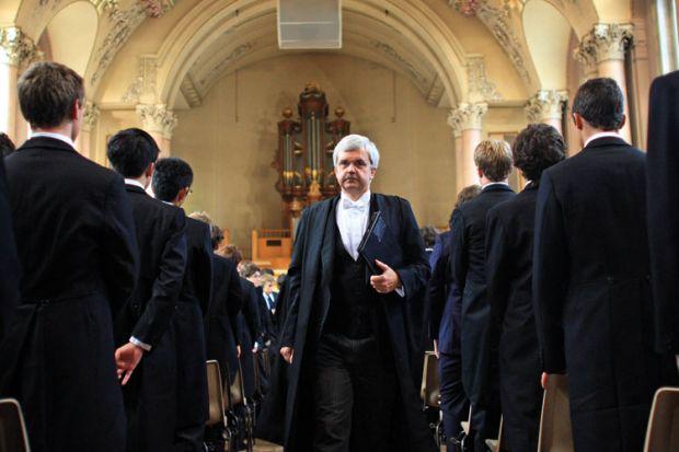 Tony Little, Eton College headmaster, 2007