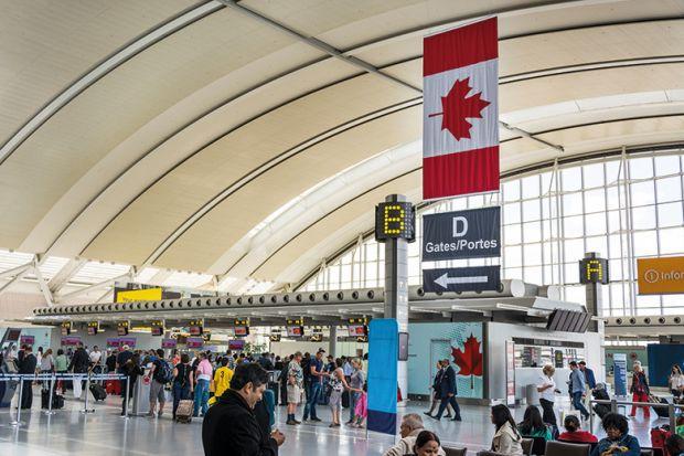 Toronto Pearson International Airport, Canada