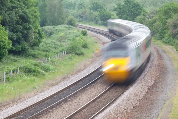 Train driving quickly, Best UK universities for student experience