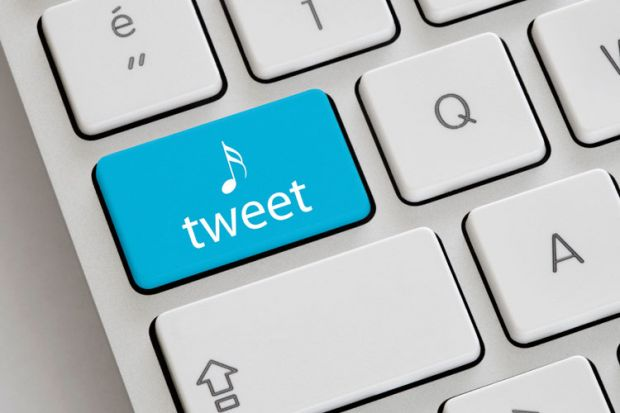 Twitter tweet button on Apple Mac keyboard