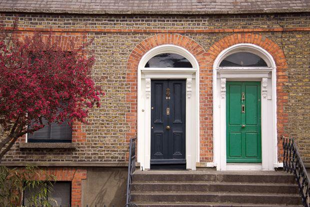 two front doors