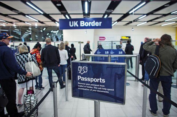 uk border passport check